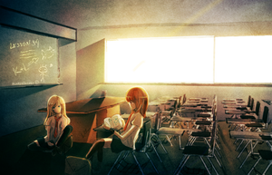 The Last school day by RinRinDaishi