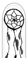 Dreamcatcher Skateboard Design by lordhappybunny13