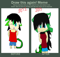 How Much I've Improved C: by xXCrona-CakesXx
