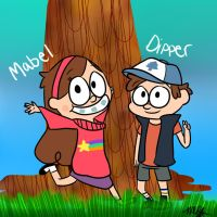 Gravity Falls by DEERMASK