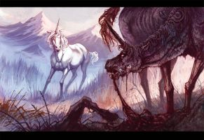 the Rabid Unicorn by MinnaSundberg