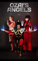 Ozai's angels by TophWei