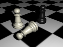 Chess Pawn pic2 by CaronCC