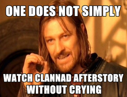 One Does Not Simply_Clannad Afterstory by 7thCobweb