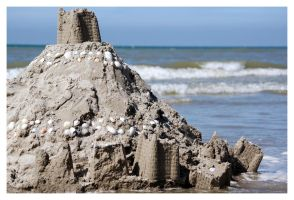 Sand Castle by MacCute