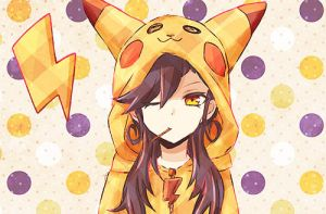 Pikachu Girl by TheAwesomeSue1263
