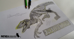 Velociraptor Mongoliensis - Jurassic World style by Pathea