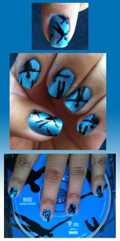 Nails are turning blue... by theworldofmycreation
