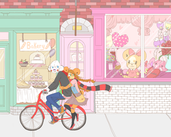 Valentines Shoplifting by LumaKuma