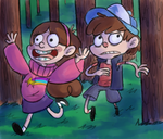Gravity Falls by EarthCookies