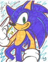 sonic see ya by SONICJENNY