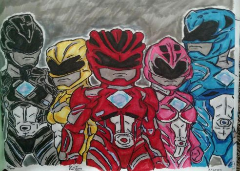Power Rangers by glantern825