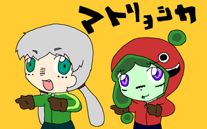 Hipo and Mr.fiddles matryoshka by Chaos55t