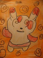 Spinda drawing by MewMewMinto1123