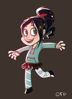 Vanellope by DuskofGold5