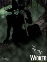 Elphaba by tsbranch
