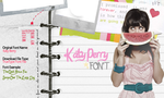 Katy Perry Font by SecretiveWishesx