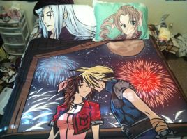 FFVII Bed Set by TheSpyWhoLuvedMe
