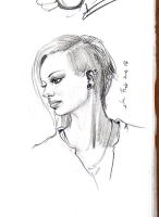 daily sketch  2062 by nosoart