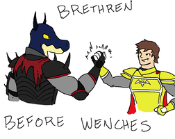 Brethren Before Wenches by Megalemon