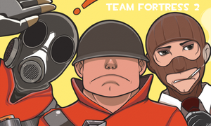 TF2 colored by Reita666
