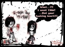 "-""GiVe u MY HeaRT HuMoR""- by andrewroxx"