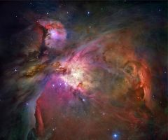 The Orion Nebula by Thyrring