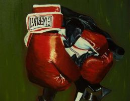 Boxing gloves by paintbabe18