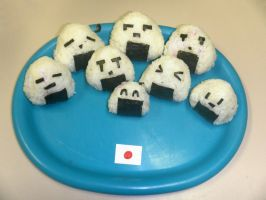 Onigiri Plate by BillSquid