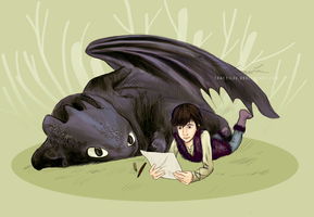 How to draw your dragon by TracyJLee