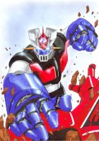 Mazinger Z 2 by Varges