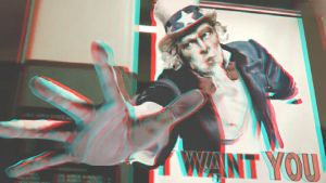 I Want You 3-D conversion by MVRamsey