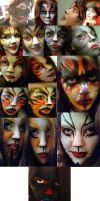 Make-Up Collage by SpectratheRestless