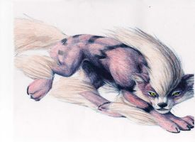 Arcanine by chained2stone