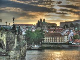 Gold Prague by ianian