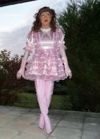 Baby pink sissy by taniasissygirl