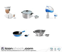 Cook Icons by Iconshock