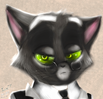 Mordecai, realistic approach by IceTF