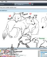 Iscribble Drawing-Wolf Nation by theversion