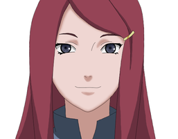 Kushina Uzumaki - Colored - Shippuden by MSU82