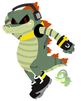 Robotic Croc by Vectormuffin