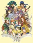 Gathering of Romancing SaGa by daLomacchi