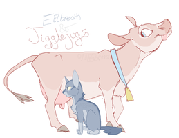 Eelbreath and Jigglejugs by MBPanther