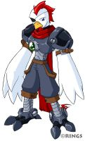 Rooster Knight by rongs1234