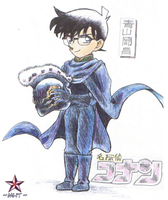 Detective Conan :Vol.26 Cover: by Mahotou