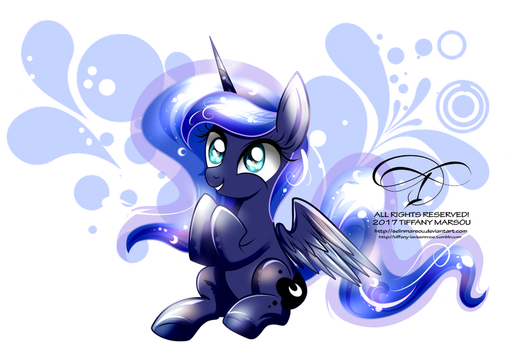Happy little Woona by selinmarsou