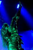 Rob Zombie Spitting by JaredWingate