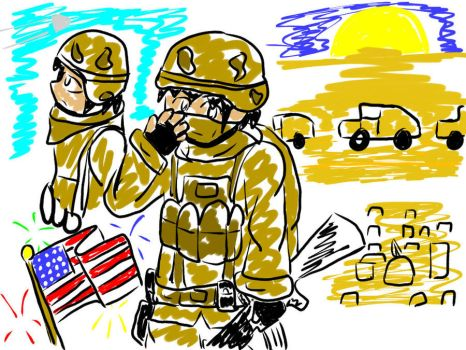 Support Our Troops favourites by TheLastIronMan on DeviantArt