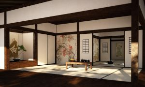 Japanese room by 16fingers