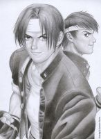 The King of Fighters by rinoa-kisaragi